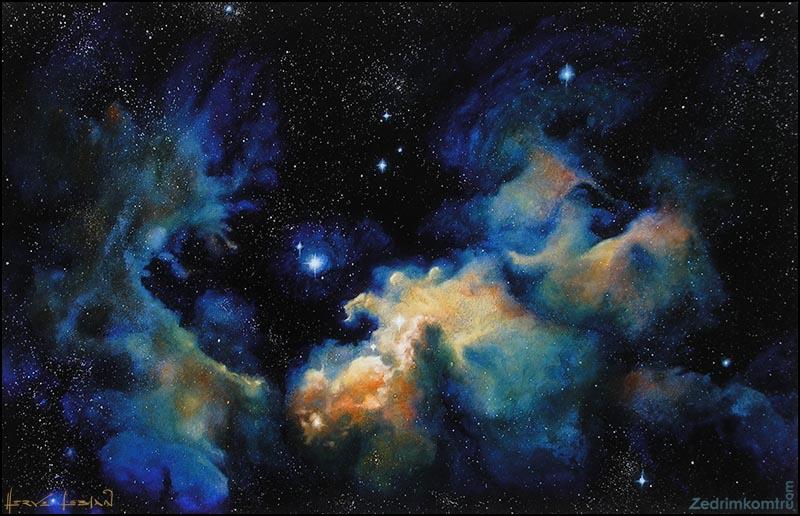 Nebula Artwork - Pics about space